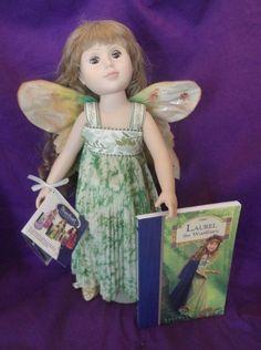 "Just Pretend Stardust Classics-18"" Vinyl Doll-Laura Woodland Fairy W/  Book #DollswithClothingAccessories"
