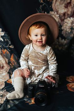 Award Winning Bismarck , ND Photographer specializing in Seniors, Weddings, and Photography Resources. Photography Portraits, Boho Baby, Photographing Babies, Blossoms, Cowboy Hats, Hipster, Tapestry, Floral, Dress