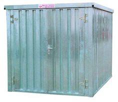 Carl Warrlich GmbH - Bauwagen und Container aus Treffurt/Thüringen · Materialcontainer
