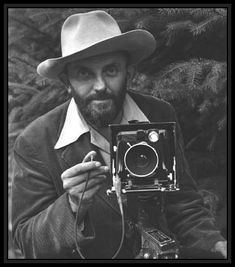 "Ansel Adams - ""previsualization"" photographer imagining what he wanted his final print to look like before he even took the shot.  Because of his love for control, Adams disliked color since it lacked this element that he had mastered with black and white."