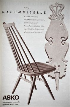 Ostin kirpparilta 1955-60 vuosien Kotiliesi-lehtiä pilkkahinnalla. Vanhoissa lehdissä on aivan ihania mainoksia . Poimin tähän teillekin n... Retro Design, Vintage Designs, Retro Vintage, Old Commercials, Interior Ideas, Finland, Nostalgia, Furniture Design, Home And Garden