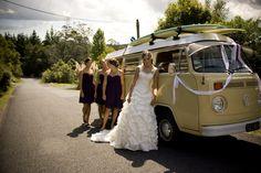 Our Beautiful Wedding Kombi <3