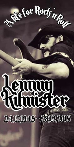 Lemmy was too cool.