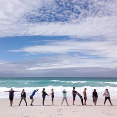 Probably one of our favourite fun shots of The word TASMANIA in people on the beach at Bay of Fires, on our East Coast. Beautifully conceived and delivered. Image credit: IG from Cologne. Fun Shots, Tasmania, Continents, East Coast, Cologne, Gymnastics, Travelling, Scenery, Fire