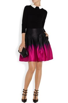 Fashion Outfits, Womens Fashion, Fashion Trends, Valentino Shoes, Satin Skirt, Top Designer Brands, Pretty Outfits, Mini Skirts, Style Inspiration