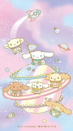 "pastel ""Planet Cinnamoroll"" in 2018, becoming the pick for Arkenya Victoriano"