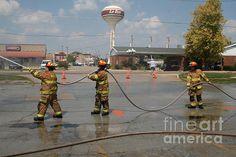 Washburn Illinois water fighting team
