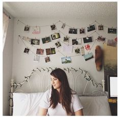 Emmatheyellow on Instagram.  Loooove the pictures hanging on the wall