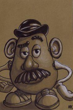 Mr. Potato Head Sketch