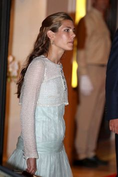 Charlotte Casiraghi in Monaco Royals Throw a Pre-Wedding Party