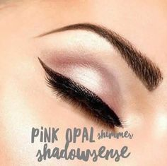 Pink Opal shimmer ShadowSense! such a pretty eyeshadow that lasts all day and is waterproof and crease proof! Makeup ❤https://www.facebook.com/groups/AZGlamGirl/