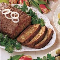 Company Meat Loaf- the stuffing makes this phenomenal.