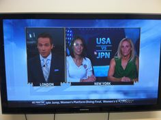 Great half-time commentary with Kristine Lilly on NBC Olympics for the USWNT vs. Japan match, August 9th 2012.