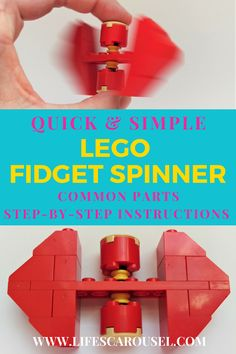 Step by step instructions for how to make a Lego fidget Spinner. Common parts and easy to make! Your kids will love this lego project idea! Summer Activities For Kids, Group Activities, Craft Activities, Single Parenting, Parenting Advice, Kids And Parenting, Parenting Quotes, Lego Projects, Toddler Preschool