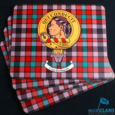 Clan placemat 4 pack