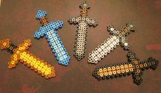 Minecraft sword. $2.00, via Etsy.