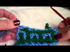 Interlocking Crochet™ - Castle Top
