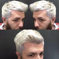 "8 Me gusta, 1 comentarios - Modidimoda Alfonso Criscuolo (@modidimoda_alfonsocriscuolo) en Instagram: ""#manwhite #hairwhite #whitehair #white #Modidimoda #alfonsocriscuolo #picoftheday #pic #instagood…"""