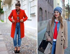pops of red // Journelles: Germany's Top Fashion and Style Blogger on Inspired by This