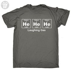 123t Men's He He He Laghing Gas Periodic Design Science T Shirt Laugh Smile Happy Teacher School Helium Table Sarcasm Funny Joke Birthday Gift Christmas Present T-SHIRT - Birthday shirts (*Amazon Partner-Link)