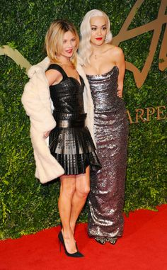 See all the Best Dressed Ladies at the British Fashion Awards!