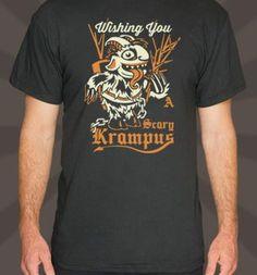 krampus 6 dollar t-shirts