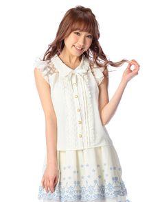 シボデシンノースリシャツ|渋谷109で人気のガーリーファッション リズリサ公式通販