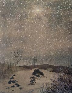 1890Theodor Severin Kittelsen (Norwegian,1857-1914) ~ 'December'