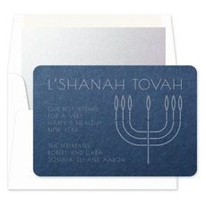 Sterling Jewish New Year Cards