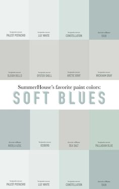 Attractive Gray Blue Paint Colors Ideas Also Color Sherwin Williams Behr Images Our Favorite Soft Living Room Colors 2019 Living Room Color Wall Painting Ideas For Home. Blue Gray Paint Colors, Paint Colors For Home, Grey Paint, Beach Paint Colors, Light Paint Colors, Kitchen Paint Colors, Bluish Gray Paint, Small Bedroom Paint Colors, Soothing Paint Colors
