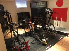 Let see your Pain Cave: Triathlon Forum: Slowtwitch Forums