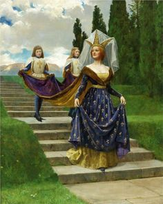 "Джон Кольер. ""The Grand Lady"" 1920"
