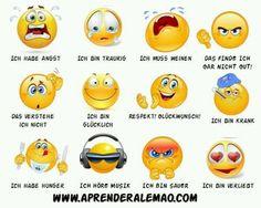 las emociones en alemán - cuando más visual, mejor ;)