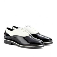 Tod's No_Code Leather And Calf Hair Brogues $769