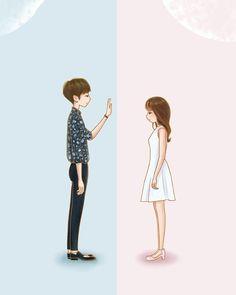 Two worlds.. one heart   #wtwoworlds #leejongsuk #KangCheol #OhYeonJoo #HANHYOJOO #webtoon #fanart #kdrama #koreandramathings #kdramathings #koreandramaart #kdramaart #koreandrama