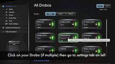 How to dim lights on the Drobo