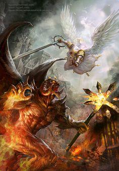 Fantasy Concept Art by Guangjian Huang