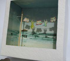beachside diorama