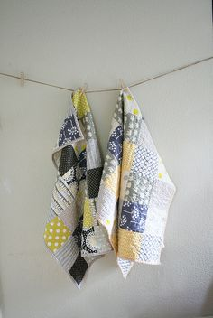 6x6 patchwork crib quilt by Insung from NAMOO, via Flickr