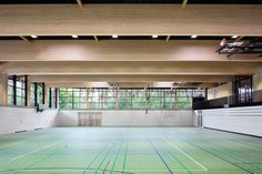 Loewer+Partner Architekten und Ingenieure: Sporthalle am Schuldorf