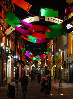 London at Christmas, Carnaby Street - Carnaby street knows how to decorate - love to see their vintage decs