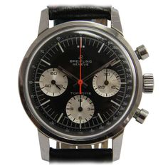 Breitling Stainless Steel Top Time Chronograph Wristwatch circa 1968 | From a unique collection of vintage wrist watches at https://www.1stdibs.com/jewelry/watches/wrist-watches/