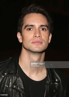 Brendon Urie of the band 'Panic! At The Disco' poses at a photo call for his broadway debut in the hit musical 'Kinky Boots' on Broadway at The Al Hirschfeld Theatre on May 24, 2017 in New York City.