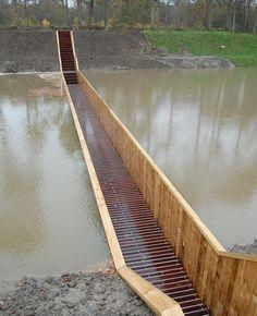 """Moses Bridge by """"RO architecten"""" in #Halsteren, The Netherlands"""