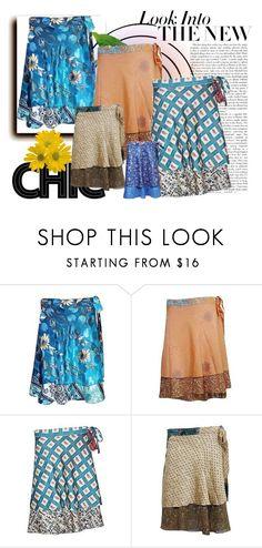 Boho short wrap skirts For Women by baydeals on Polyvore  http://stores.ebay.com/mogulgallery/Silk-Sari-Skirts-/_i.html?_fsub=761673819&_sid=3781319&_trksid=p4634.c0.m322