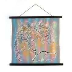 Modern Art, Contemporary Art, Silk Painting, Screen Printing, Original Artwork, How To Draw Hands, Sculptures, Wooden Hangers, Hand Painted