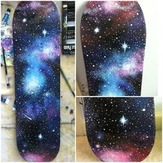 vans skate galexy deck - Google Search