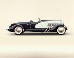 1933 Duesenberg Model SJ Speedster with special coachwork by Weymann