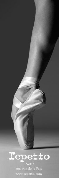 Repetto pointe shoes