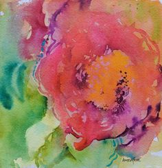 Tropic, watercolour by Angela Fehr